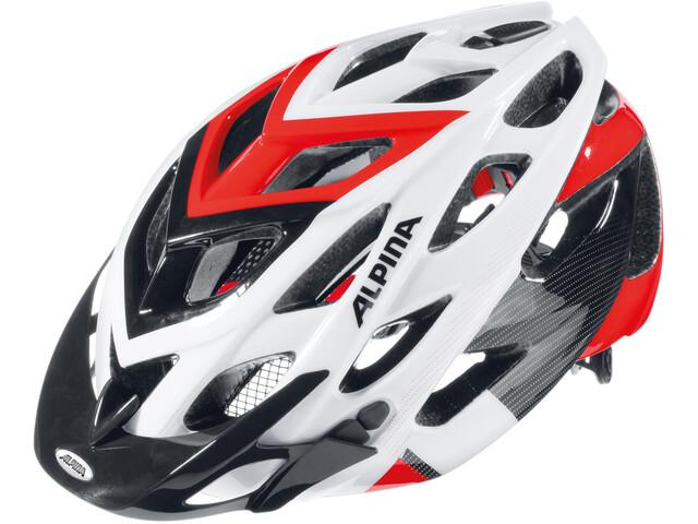 Alpina D-Alto Cykelhjelm hvid/sort